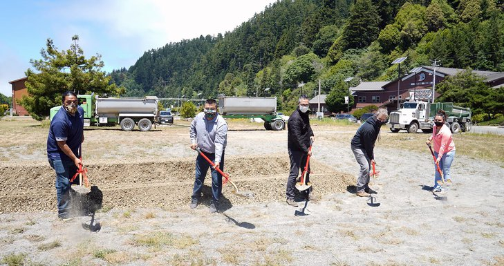 Yuroks Break Ground on EOC