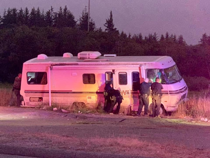 Suspect In RV Pursuit Allegedly Involved In Domestic