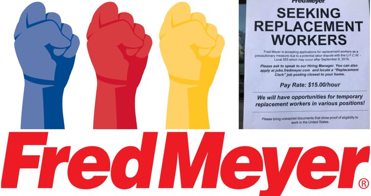 Strike Looming at Fred Meyer