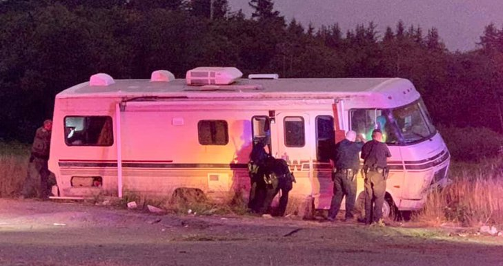 RV Chase Ends in Crescent City